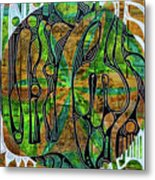 Xibalba Forest Metal Print