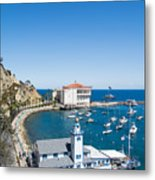 Yacht Club And The Casino Metal Print