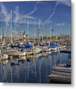 Yachts And Things Metal Print