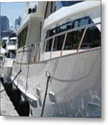 Yachts In The City Metal Print