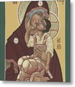 Yakhrom Icon Of The Mother Of God 258 Metal Print