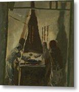 Yakovlev, Alexander 1887-1938 Merguez Seller In Tunis Metal Print