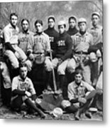 Yale Baseball Team, 1901 Metal Print