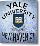 Yale University New Haven Ct.  Metal Print