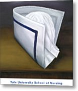 Yale University School Of Nursing Metal Print