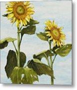 Yana's Sunflowers Metal Print