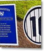 Yankee Legends Number 10 Metal Print