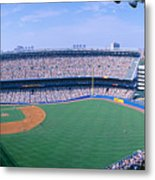 Yankee Stadium Ny Yankees V. Tampa Metal Print