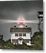 Yaquina Bay Lighthouse Metal Print