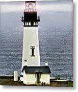 Yaquina Head Lighthouse Metal Print