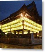 Yasaka Shrine Metal Print