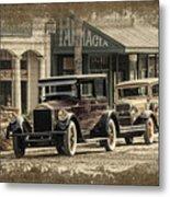 Ybor City Prop Cars Metal Print
