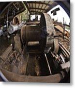 Ye Olde Logging Camp Metal Print