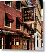 Ye Olde Union Oyster House Metal Print