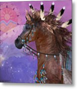 Year Of The Eagle Horse Metal Print