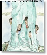 Yearning To Breathe Free Art Print By Barry Blitt