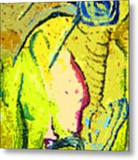 Yello Metal Print