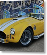 Yellow Ac Cobra  Metal Print