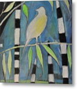Yellow Bird Up High... Metal Print