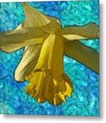 Yellow Daffodil 3 Metal Print