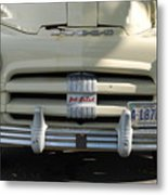 Yellow Dodge Metal Print