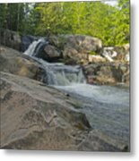 Yellow Dog Falls 4213 Metal Print