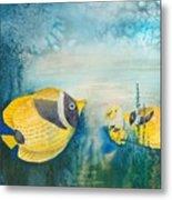 Yellow Fish Yellow Fish Metal Print