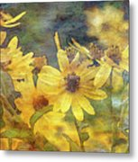 Yellow Flower View 4851 Idp_2 Metal Print