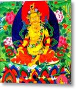 Yellow Jambhala 17 Metal Print