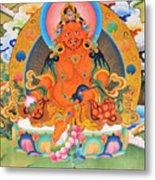 Yellow Jambhala 21 Metal Print