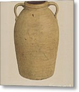 Yellow Jar Metal Print
