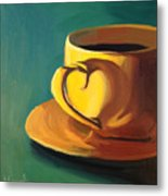Yellow Java Metal Print