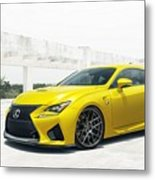 Yellow Lexus4 Metal Print