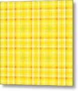 Yellow N.4 Metal Print