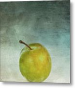 Yellow Plum Metal Print