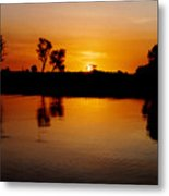 Yellow River Kakadu Metal Print