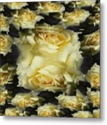 Yellow Roses 2 Metal Print