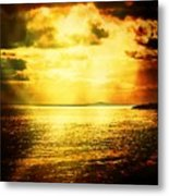 Yellow Sea Metal Print