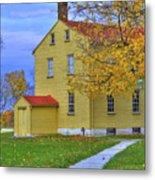 Yellow Shaker House 2 Metal Print