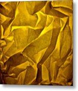 Yellow Sorrow Metal Print