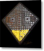 Yellow Tip Metal Print