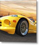 Yellow Viper Rt10 Metal Print