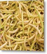 Yellow Wax Beans Metal Print