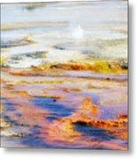Yellowstone Abstract II Metal Print