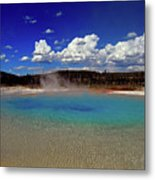 Yellowstone Blues Metal Print