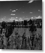 Yellowstone Canyon Metal Print
