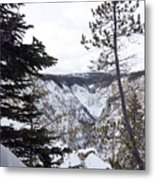 Yellowstone Canyon Metal Print