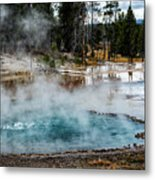 Yellowstone Colors #2 Metal Print