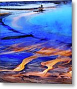 Yellowstone Grand Prismatic Spring Geothermal Water Metal Print