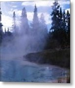 Yellowstone Haze Metal Print